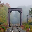 Railroad bridge 3 by Carolyn Clark