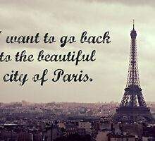 Back to the City of Paris by yeinamv