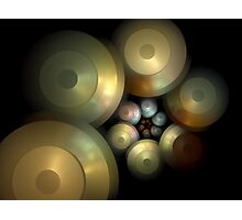 Flying Saucers Arise Photographic Print