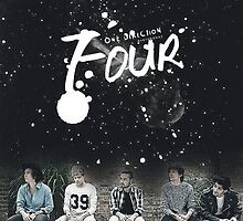 ONE DIRECTION - FOUR - ART by charllhere