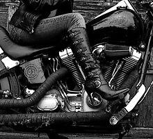 Heels & Harleys by Tracy Deptuck