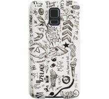 One Direction Tattoos iPhone Case Samsung Galaxy Case/Skin