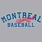 Montreal Baseball by aBrandwNoName