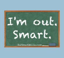 "I'm out. Smart. | inspired by the short film ""Out Smart""  Kids Clothes"