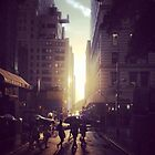 New York Sunset by benward646