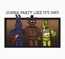 Party Like It's 1987 T-Shirt