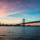 Sunset Philly - Philadelphia, PA by Jason Heritage