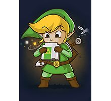 The Legend of Zelda Link Photographic Print