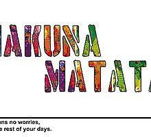 hakuna matata by 3e3e