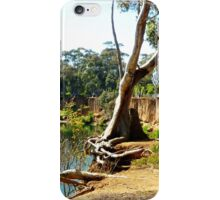 *Hanging on for grim Death* - Vic. Australia iPhone Case/Skin