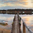 Merimbula Fish Pen, New South Wales, Australia by Michael Boniwell