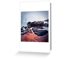 Castles In The Sand Greeting Card