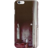 Side aisle Priory church of St Mary Deerhurst England 198405140063 iPhone Case/Skin