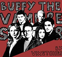 A Buffy Pop Art Calendar by Vixetches