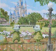 Cinderella Castle by BonnyL