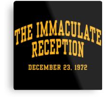 The Immaculate Reception Metal Print