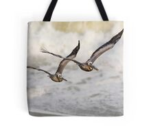 Never Leave Your Wingman - Pelican Pair Tote Bag