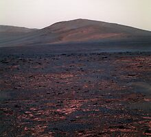 Mars Opportunity Hill by Jacob Thomas