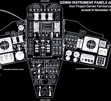 Gemini Instrument Panels by Jacob Thomas