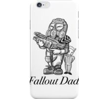 Fallout Dad (White) iPhone Case/Skin