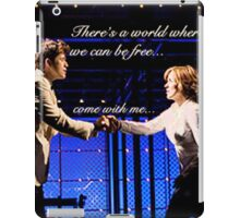 There's A World iPad Case/Skin