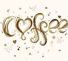 I Love Coffee by OlechkaDesign