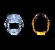 Daft Punk Polygon by destinyislands