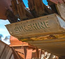 Under the old sunshine header... by mitpjenkeating