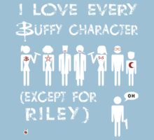 I love every Buffy character except for Riley Kids Clothes