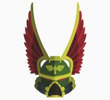 Dark Angel Helmet by Elliot Courtney
