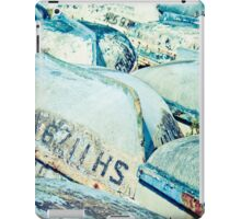 Brightly coloured fishing boats iPad Case/Skin