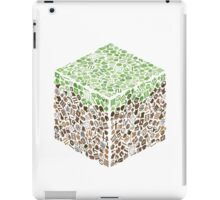 Minecraft Cube of Minecraft iPad Case/Skin