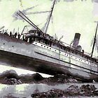 S.S. Princess May wrecked on August 5, 1910 by Dennis Melling
