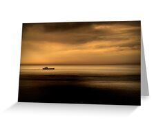 Looking out to Sea Greeting Card