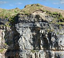 cliffs and sky on the wild atlantic way by morrbyte