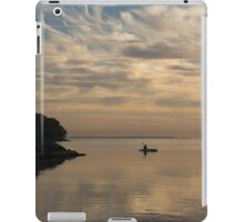 Kayaking Through Pink Gold iPad Case/Skin