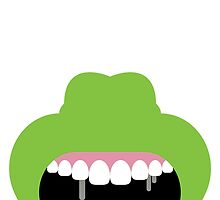 Ghostbusters Minimalist Series - Slimer by fabriqueposters
