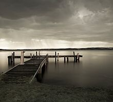 Squid's Ink Jetty by amandaayre