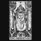 The Hierophant Tarot Card - Major Arcana - fortune telling - occult by James Ferguson - Darkinc1