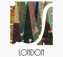 london city map abstract  Kids Clothes