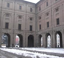 the Palazzo della Pilotta - Parma - italy - Europe -VETRINA RB EXPLORE MARZO 2013 - by Guendalyn
