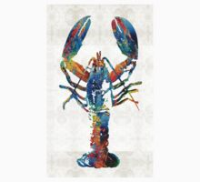 Colorful Lobster Art by Sharon Cummings T-Shirt