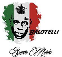Mario Balotelli Italia  by sportskeeda