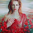 Red ocean by Elena Oleniuc