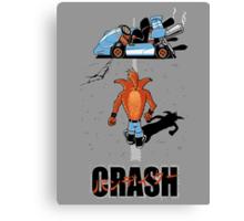 CRASH AKIRA Canvas Print
