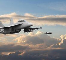 F18 - Super Hornet by warbirds