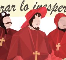 The Spanish Inquisition - 'Esperar lo Inesperado' Sticker