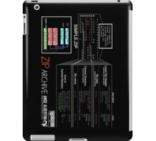 a mini ZIP (white text) iPad Case/Skin