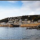 """Sun up in Mousehole in late September"" by mrcoradour"