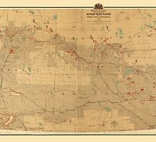 Canadian Mounted Police Map by AndrewFare